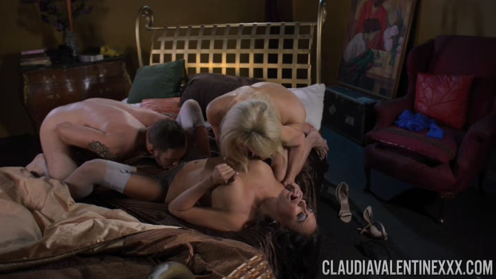 PornstarPlatinum 15 06 28 Claudia Valentine In Sharing A Cock With Erica