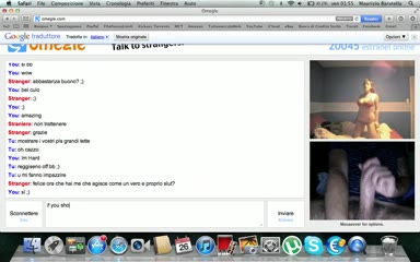 [omegle webcam slut] omegle canadian teen shows her body whore