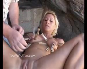 public bdsm and outdoor milf fetishes of tantalized blondie