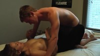 Amateur College Couple Fucking in Their Dormroom