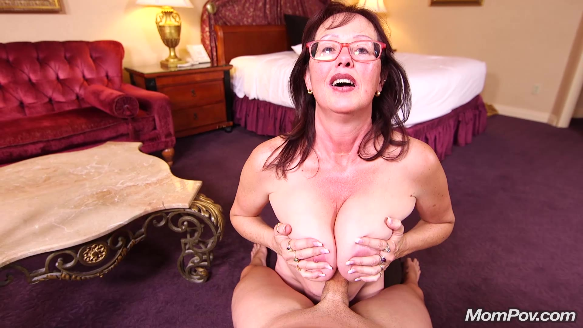 Huge Natural Tits Milf Pov