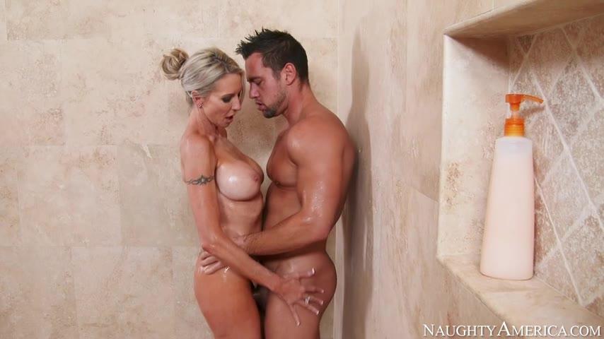 Frienfs hot mom blonde porn Emma Starr Johnny Castle Friends Hot Mom Milf Cougar Blonde Bigtits Slender Ass Shower Pornve Com