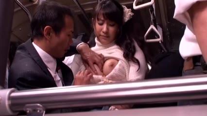 Japanese Schoolgirl Got Fucked On A Bus Porn Photo