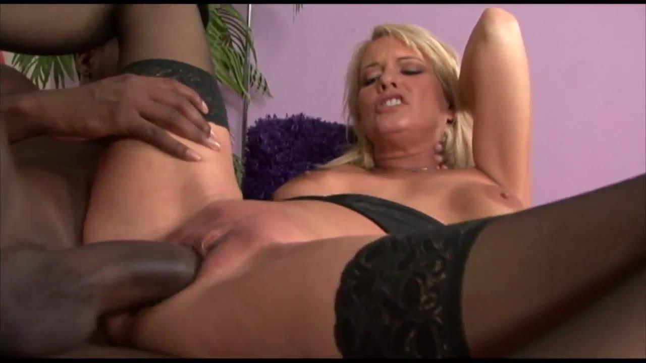 British Blonde Milf Bukkake