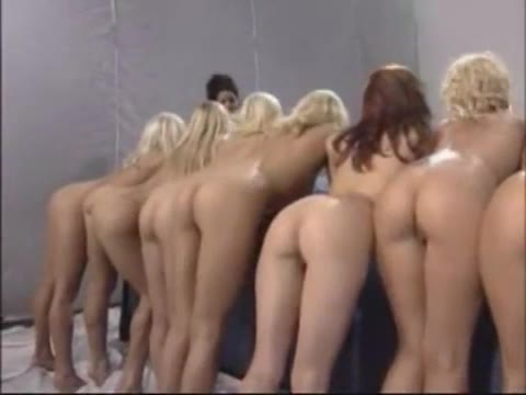 Naked mature women party group