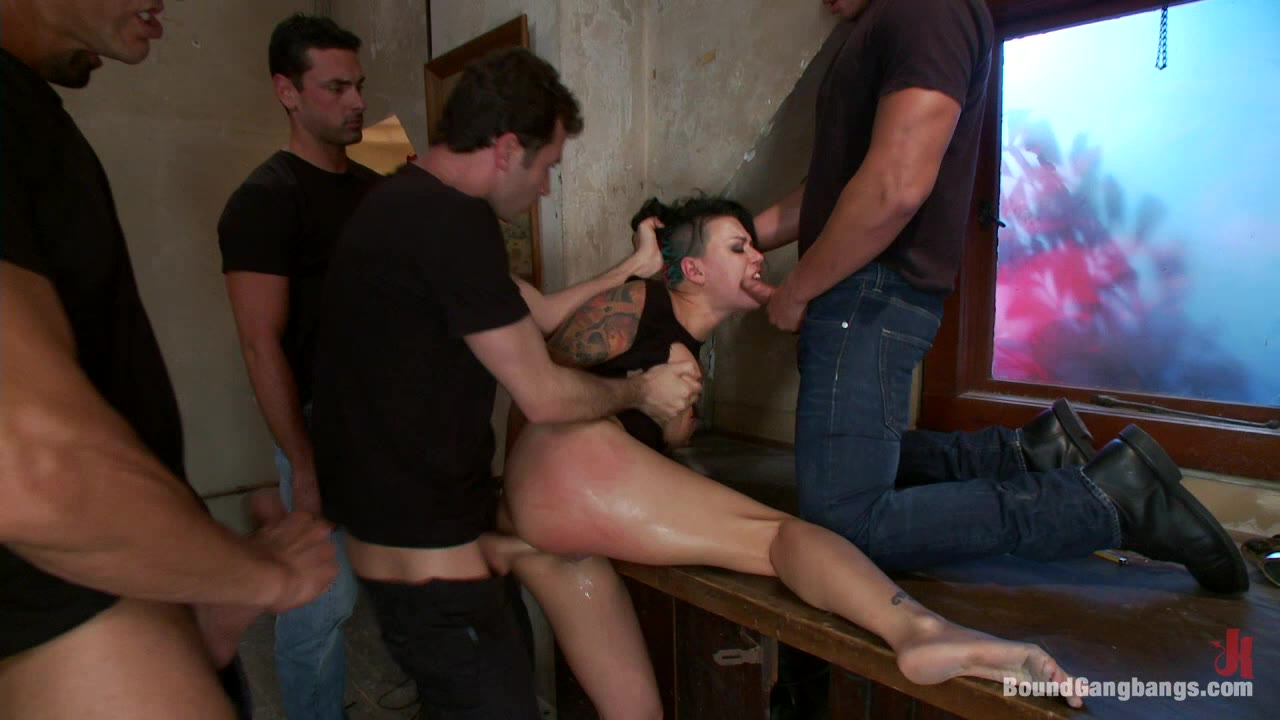 Eva Angelina BUSTED Eva Angelina Plays a Hooker Gangbanged by Crooked Cops DP