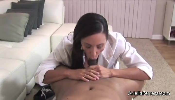 Ebony Blowjob Titty Fuck