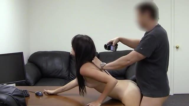 Carleigh Teen Brunette Anal SEX